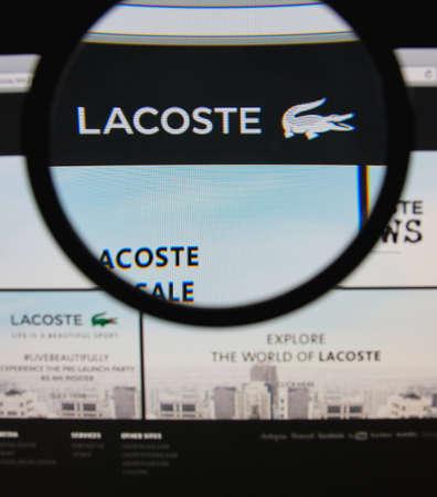 buy popular 324bd f3eca LISBON, PORTUGAL - JANUARY 30, 2014: Photo of Lacoste ...