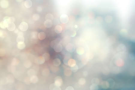 Foto de christmas lights. Christmas soft  Bokeh background - Imagen libre de derechos