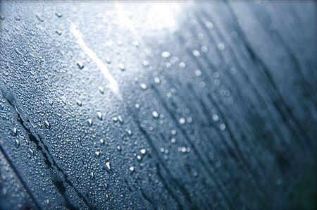 Dew on Windshield