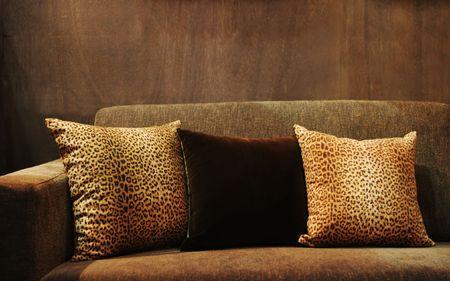 Sofa in a modern home