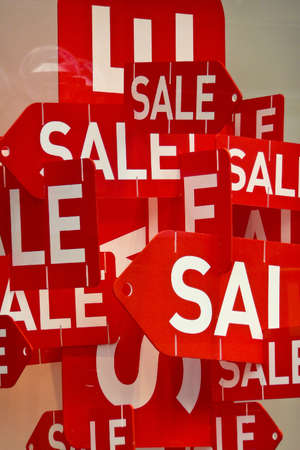 Sale in a shop