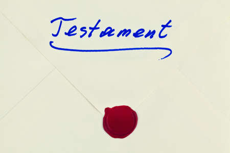 the testament of a deceased person in german  last will and inheritance