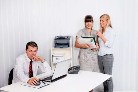 bullying at work in an office