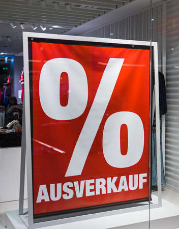 in a display window of a shop should be noted on the final sale.