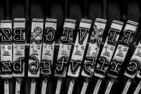 types of a typewriter