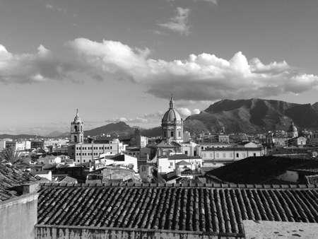 Vista della citt di Palermo