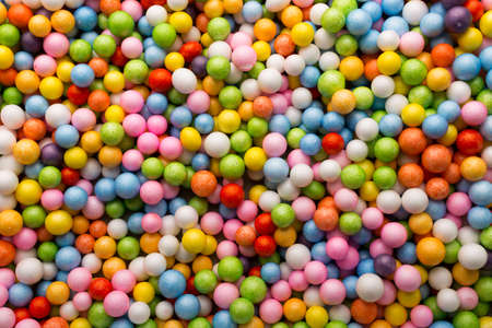 Small colored balls  Background
