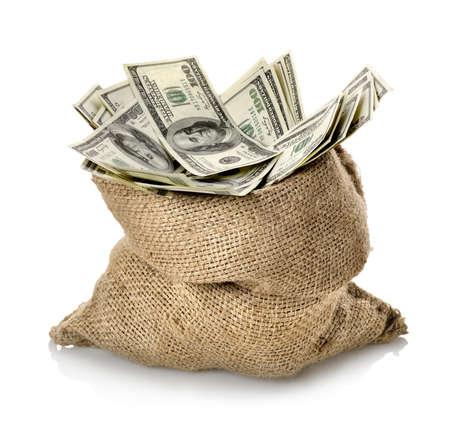 Dollar in the bag