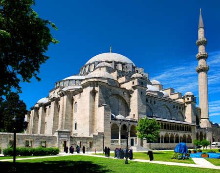 Photo pour Suleymaniye Mosque in Istanbul - image libre de droit