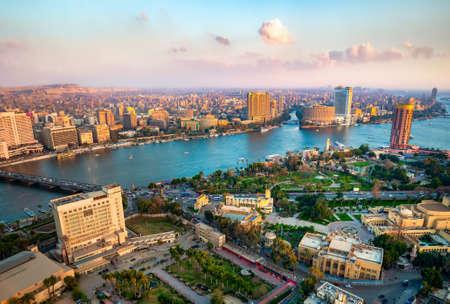 Foto de Panorama of Cairo - Imagen libre de derechos