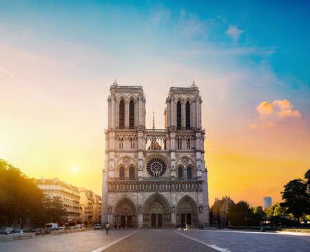 Foto de Notre Dame in morning - Imagen libre de derechos
