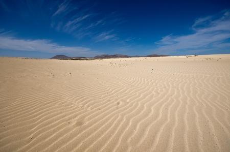 desert landscape, dunes, sky