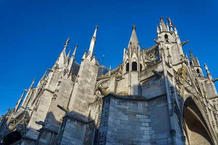 Gothic Saint-Urbain Basilica in Troyes, France