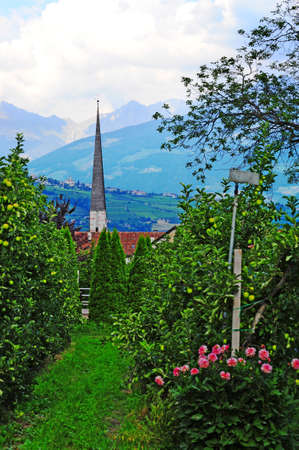 The Lutheran Church At the Foot Of The Italian Alps