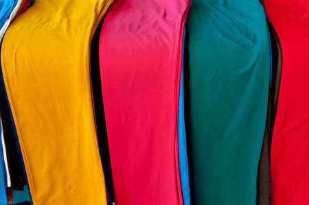 Colored Pants on the Counter for Sale