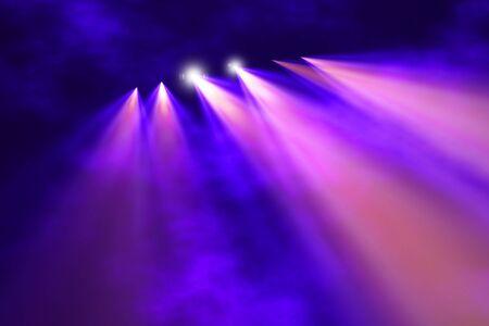 Photo pour Stage illumination background  - image libre de droit