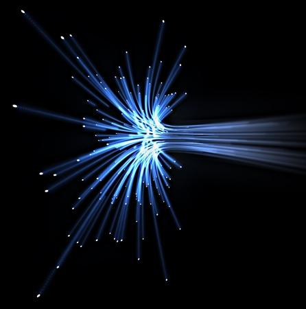 blue light optical fiber