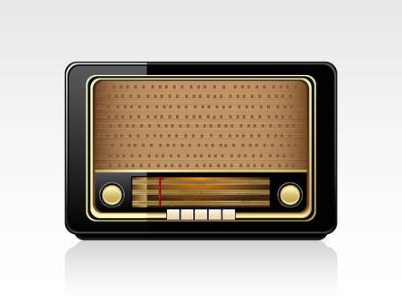 Illustration for Retro radio - Royalty Free Image