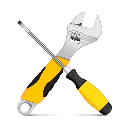 Vector wrench and screwdriver