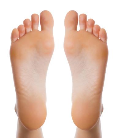 Health concept Female foot
