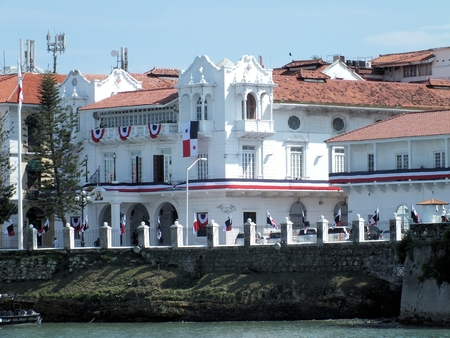 The Palacio de las Garzas is the official residence of the Panamanian President. It was originally built in the 17th century by an official of the Spanish crown and used as a customs house for a while.