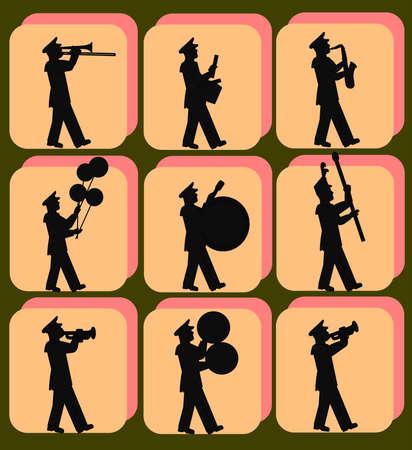 marching band pattern