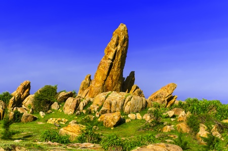 Stones near Khe Ga Lighthouse  Than Thanh commune, Ham Thuan Nam district