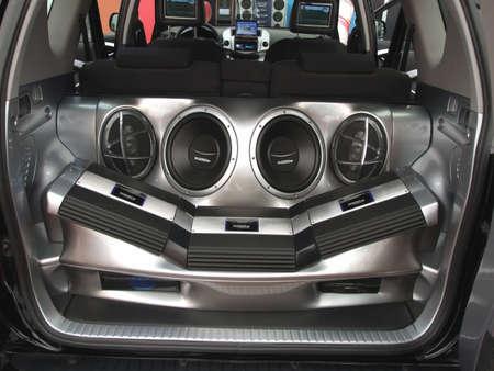 car hi-fi audio system