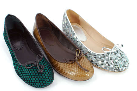 Photo for lady flat shoes - Royalty Free Image