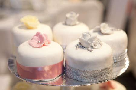 Wedding cakes  shallow  dof