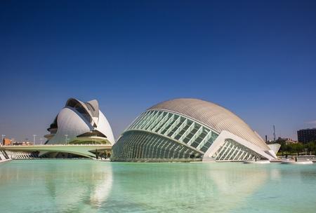 Foto per valencia, architettura moderna - Immagine Royalty Free