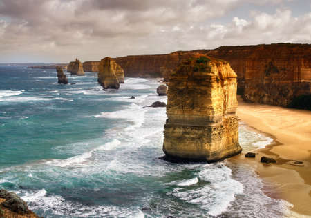 beautiful 12 apostles in Australia
