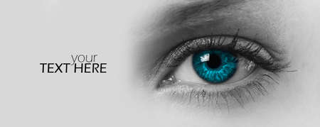 Photo for Female eye with the copy space - Royalty Free Image