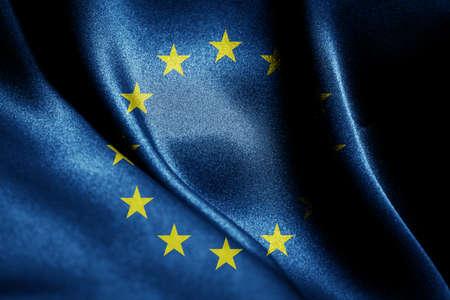 Foto de Abstract smooth silk background with the country flag - Imagen libre de derechos
