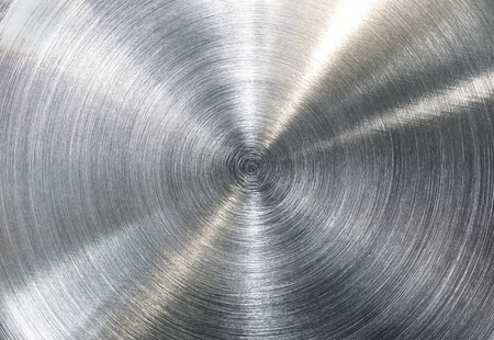 High contrast brushed stainless steel texture
