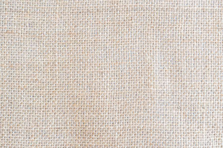 Photo pour Back brown Fabric canvas texture background with blank space for text design. Clean yellow beige Hessian sackcloth wool pleat woven concept cream sack pattern color, retro plain cotton cloth. - image libre de droit
