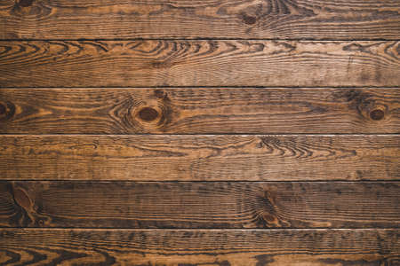 Photo pour Brown timber wood. Rustic abstract background. Natural oak surface. Horizontal planks. Empty space. - image libre de droit