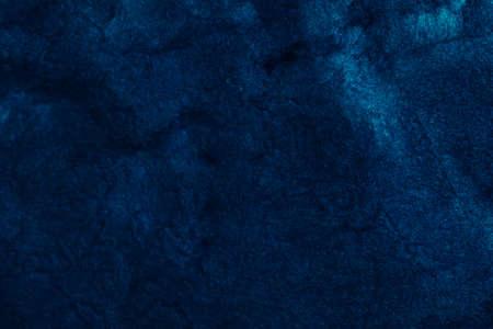 Foto de Abstract art texture background. Night sky design. Beautiful navy blue paint with sparkling effect. - Imagen libre de derechos
