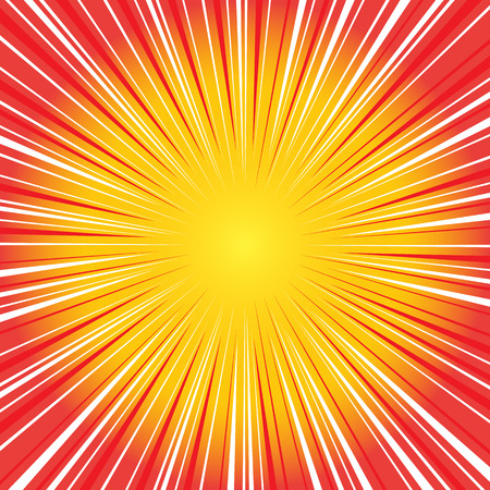 Illustration pour Radial speed on, bubble comic speech, vector format - image libre de droit