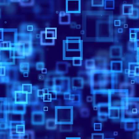 blue squares abstract seamless background