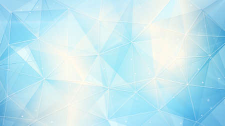 Photo for light blue web. computer generated abstract geometrical background - Royalty Free Image