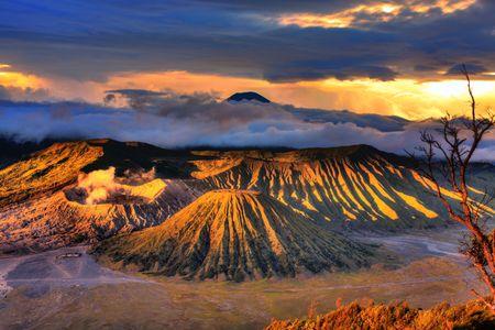Foto de Bromo Tengger Semeru national park. Java. Indonesia - Imagen libre de derechos