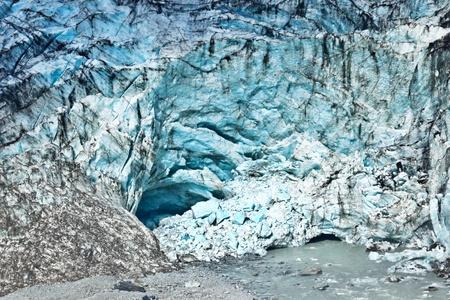 Terminal face of Fox glacier