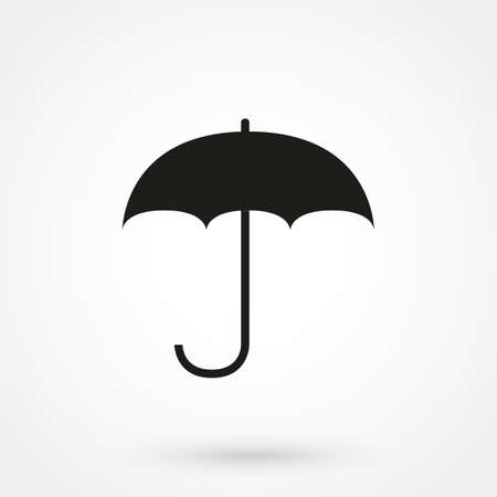 Illustration pour umbrella icon vector - image libre de droit