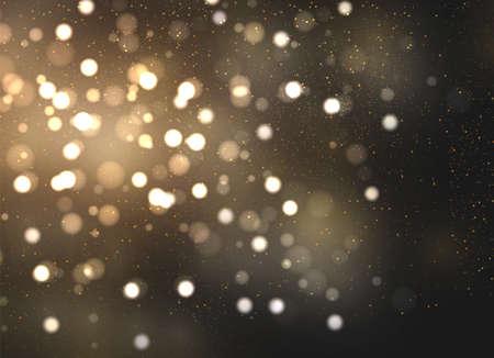 Illustration pour The dust sparks and golden stars shine with special light. Vector sparkles on a transparent background. Christmas light effect. Sparkling magical dust particles. - image libre de droit