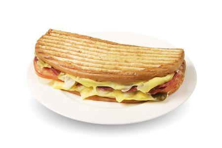 Ayvalik Tostu- Turkish traditional toast sandwich
