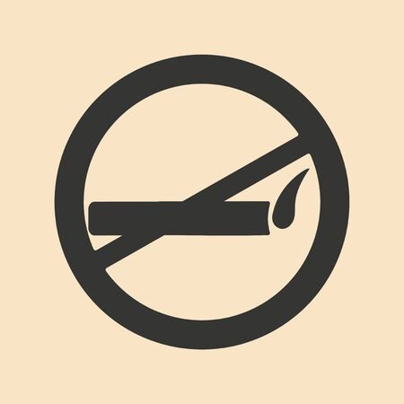 Flat in black and white mobile application smoking allowed