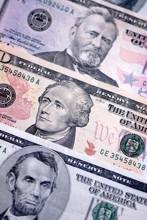 dollars - paper denominations