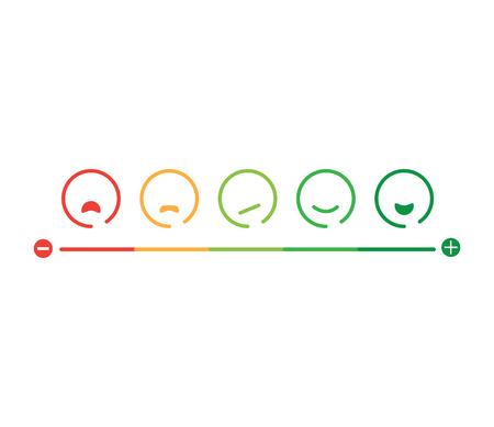 Illustration pour Feedback Concept Design - image libre de droit