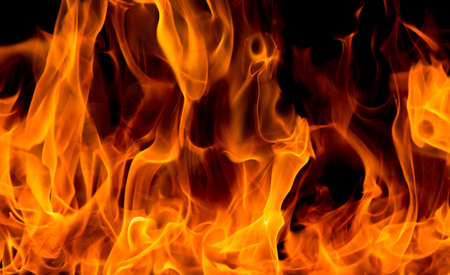 Photo for blaze fire flame texture background - Royalty Free Image